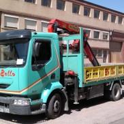 Camión 2 ejes. Grúa Palfinger 9501