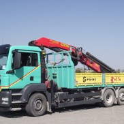 Camión de 3 ejes. Grúa Palfinger 29002