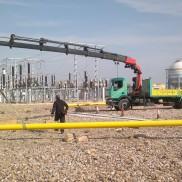 Trabajos en industria del gas