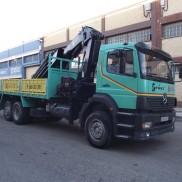Camión 3 ejes. Grúa Hiab 422